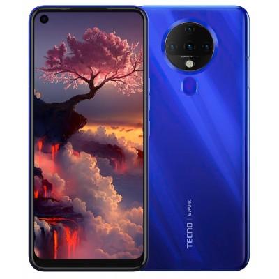 Смартфон TECNO Spark 6 (KE7) 4/64Gb Dual SIM Ocean Blue